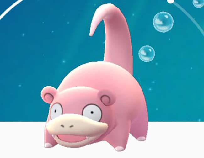 Slowpoke, uno de los Pokémon que podemos conseguir en Pokemon