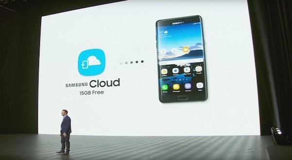 Presentación Galaxy Note 7