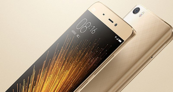 Xiaomi Mi5 4G dorado