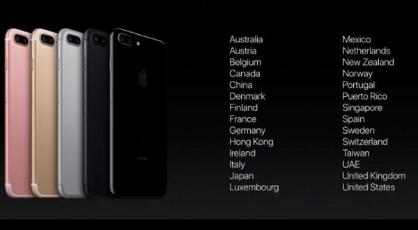 Los nuevos iPhone 7 y iPhone 7 Plus llegan a España el 16 de septiembre