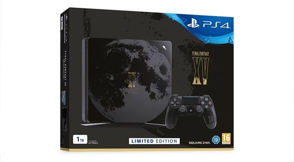 Sony presenta una nueva PlayStation 4 Slim de 'Final Fantasy XV'