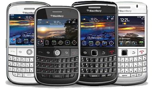 Varios Blackberrys