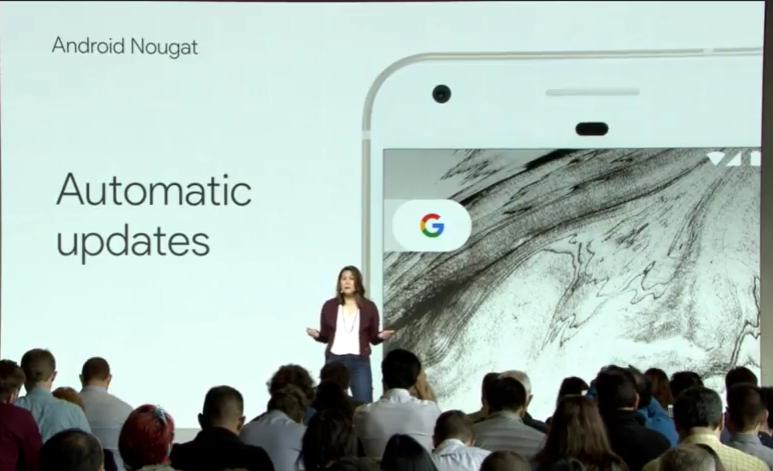 Actualizaciones automáticas para Google Pixel