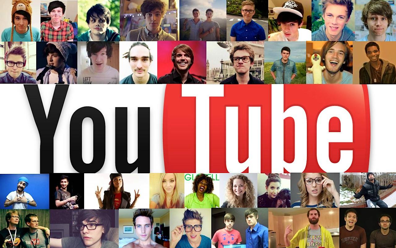 Creadores de contenido de Youtube