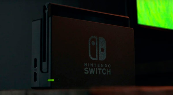 El dock de Nintendo Switch es solo una base de carga y conexión con la televisión