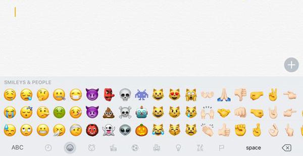 Los nuevos emojis de iOS 10.2