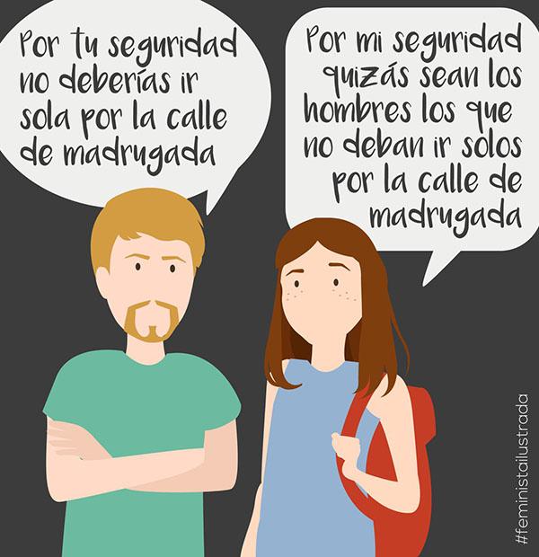 Ilustración de @femilustrada en Twitter