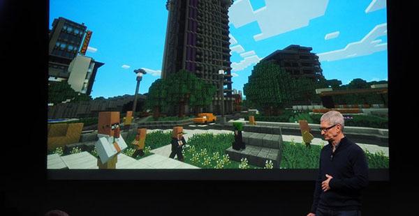 Minecraft ya está disponible para Apple TV