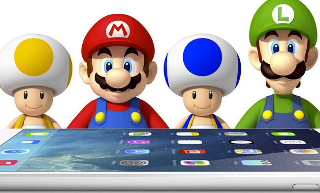 Juegos móviles en Nintendo