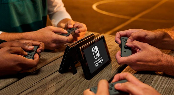 Multijugador local de Switch
