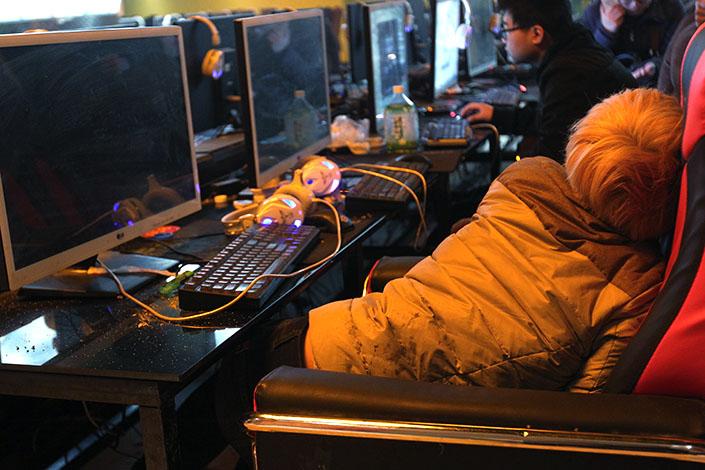 Internet Bar en china