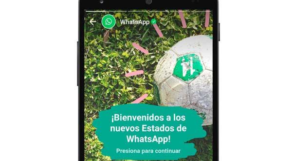 Llegan los 'Estados de WhatsApp' a la aplicación de mensajería instantánea