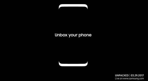 El Samsung Galaxy S8 se presentará oficialmente el próximo 29 de marzo