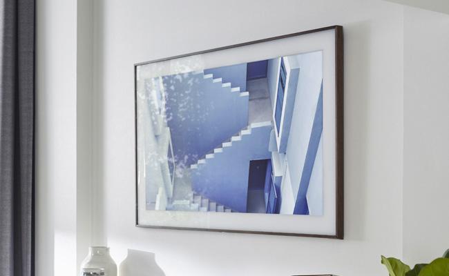Imagen promocional de The Frame de Samsung