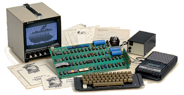 Así eran algunos de los Apple-1
