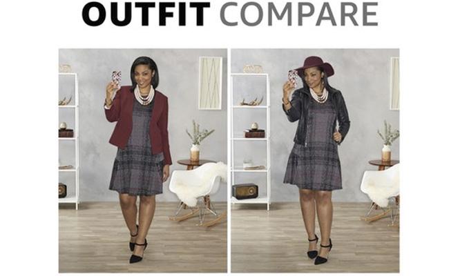 El nuevo servicio Amazon Outfit Compare