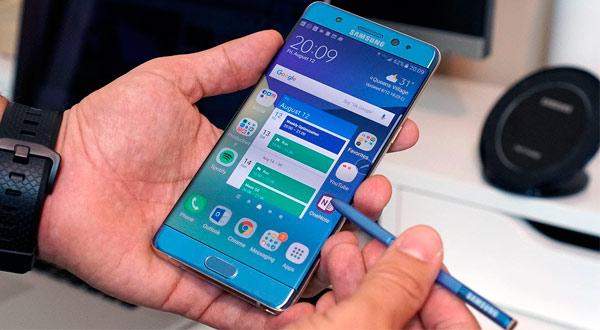 Samsung comercializará de nuevo el Galaxy Note 7, pero reacondicionado