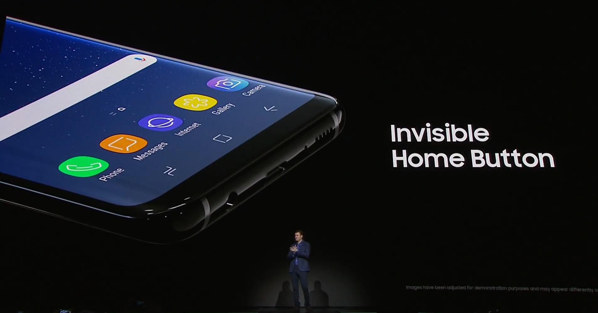 Botón home invisible