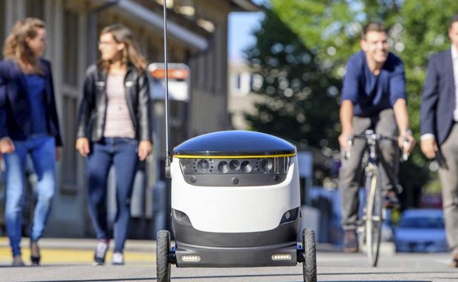 Así luce el tan popular robot de repartos