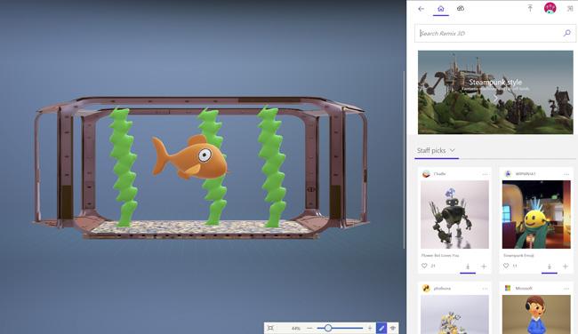 Microsoft confía mucho en el 3D