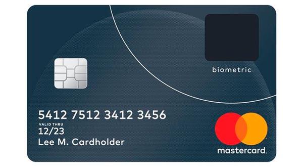 Mastercard ya tiene preparadas sus tarjetas con lector biométrico