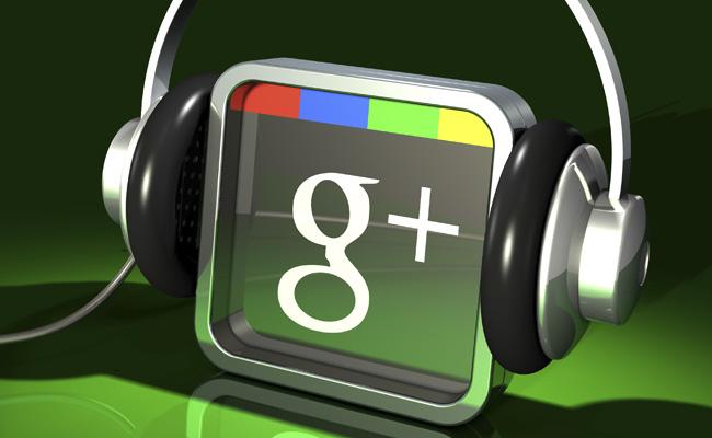 Sonido portátil de la mano de Google