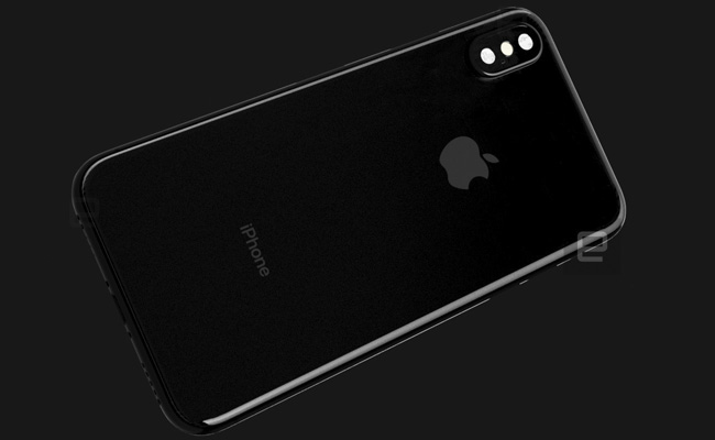 Render filtrado del iPhone 8