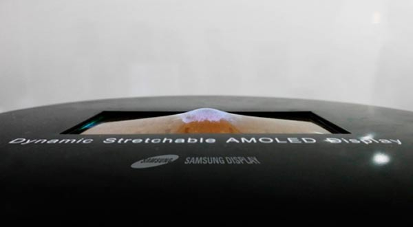 Samsung presentará una pantalla elástica la semana que viene