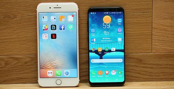 Dos teléfonos de alta calidad