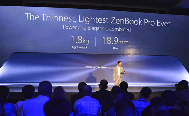 Presentación del nuevo ZenBook UX550