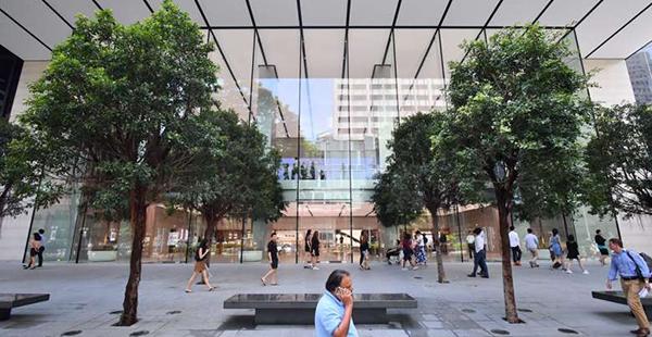 Así es la nueva Apple Store