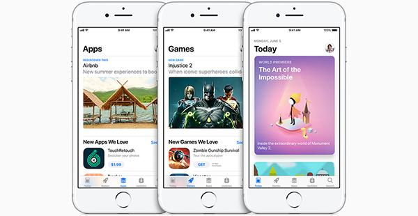 Así es la App Store ahora