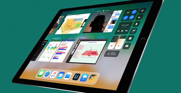 Así se verá iOS 11 en un iPad