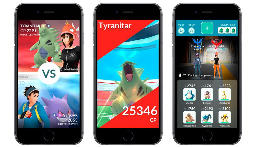 Pokemon Go se prepara para su mayor actualización renovando por completo los gimnasios