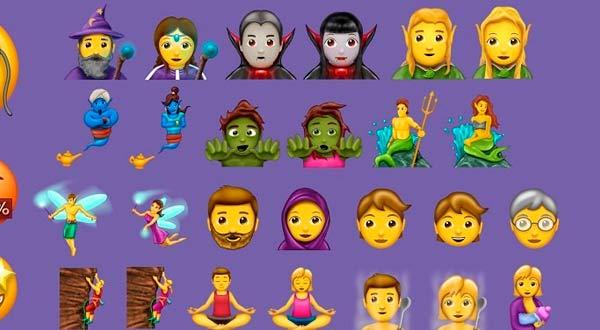 Elfos, zombis y vampiros llegarán a tu teclado emoji con Unicode 10