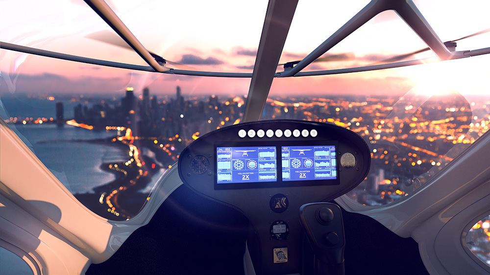 Una start-up quiere que los taxis de Dubai sean drones