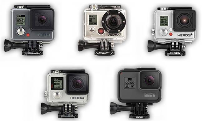 Modelos de GoPro