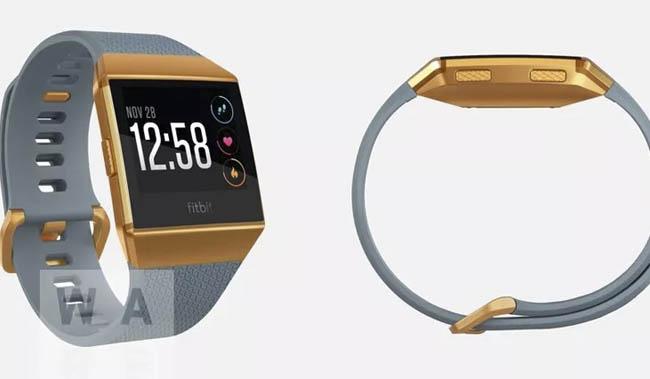 Posible imagen del futuro smartwatch Fitbit