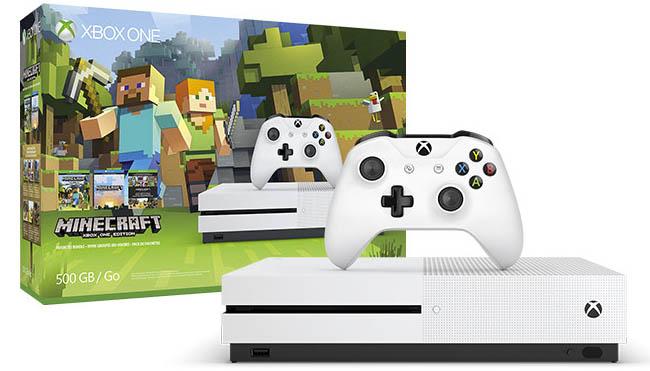 Nueva Xbox Edición Especial Minecraft