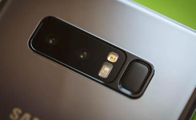La cámara es la estrella en el Note 8