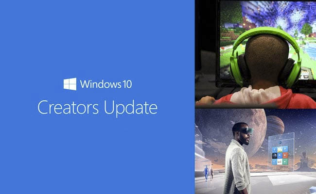 Puesta al día de Windows 10 Creators Update