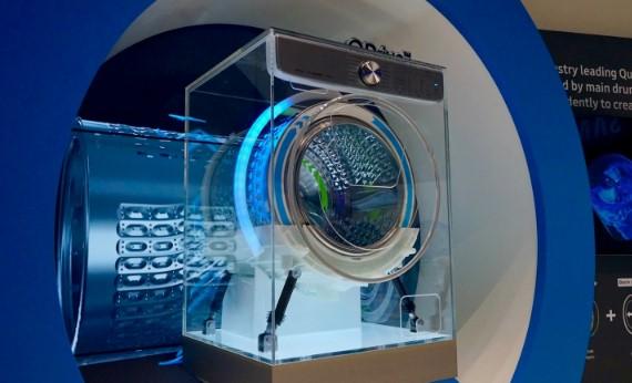 Prototipo de lavadora de Samsung