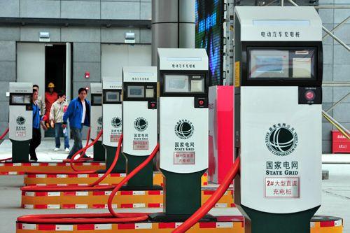 Estación de carga de coche eléctrico en China