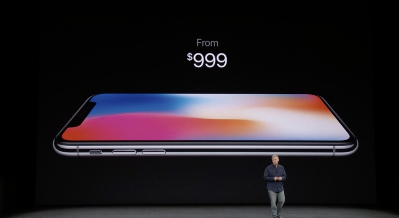 iPhone X es el móvil con el que iPhone llega a los 1.000 dólares