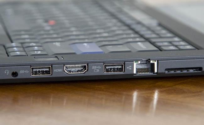 Conexiones del ThinkPad 25