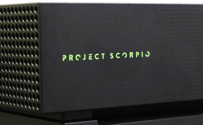 Edición Project Scorpio de Xbox One X