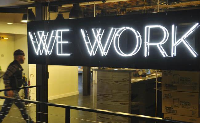 Espacios de networking We Work