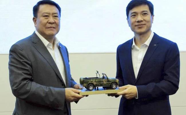 Baidu y BAIC unen fuerzas