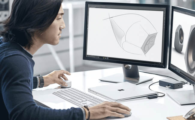 Surface Dial se entiende con Photoshop
