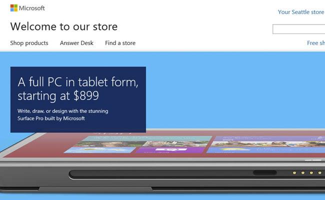 ¿Comprar dispositivos a través de la Microsoft Store?